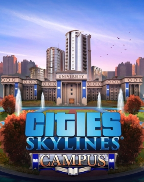 Cities: Skylines - Campus Steam Key cover