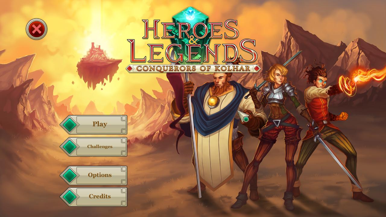 Heroes & Legends: Conquerors of Kolhar Mac - CD Keys for Steam
